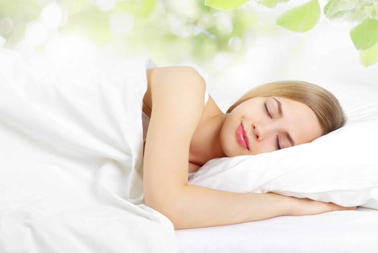 sleep for beauty skin